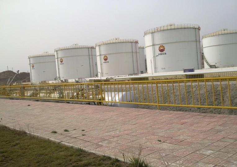 低温自限温电热带用于白银中石油分公司油库管道罐体保温