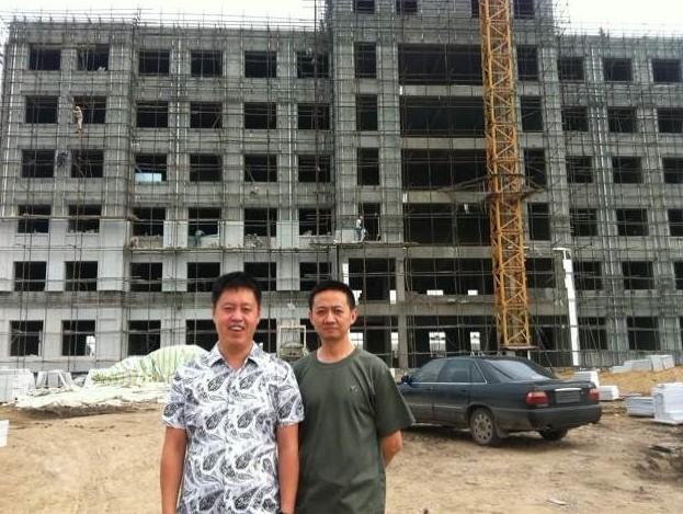 吉林省榆树市沈阳军区武警炮兵连总队7000平米办公楼
