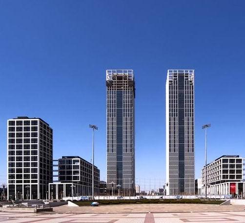 大连诺德大厦选用安徽环瑞自限温电热带用于排水管消防管道电伴热