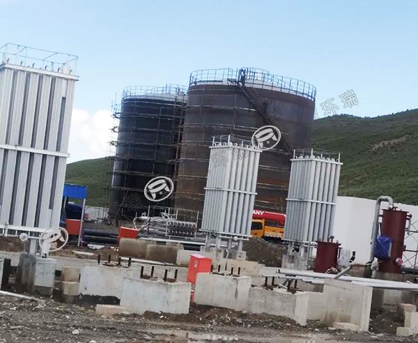 西宁共和县液化气储罐电伴热防冻保温