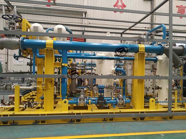 环瑞电伴热助力新能源企业实现出口伊朗设备制造