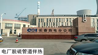 电厂脱硫电伴热